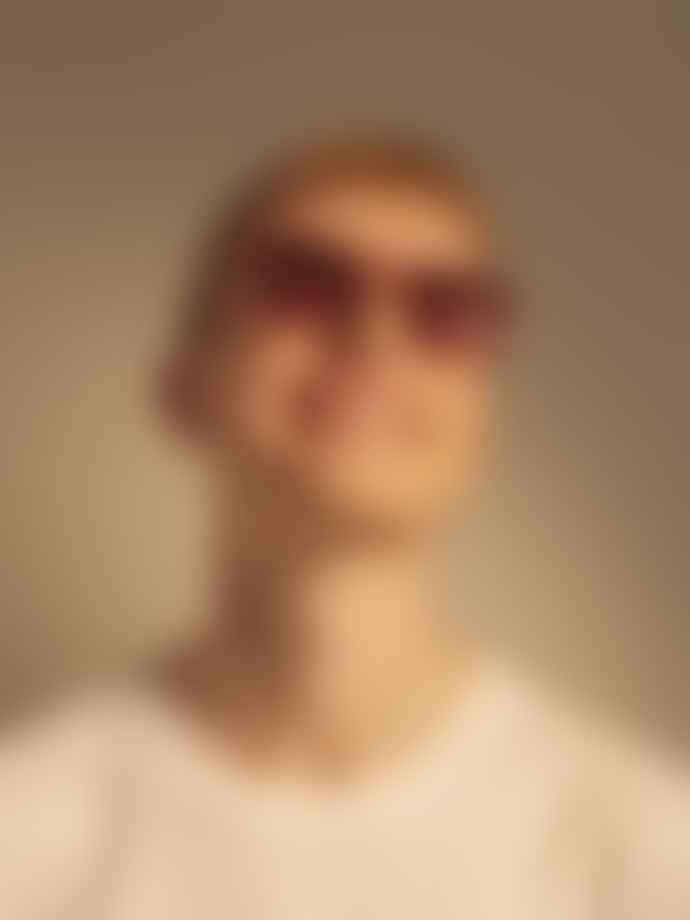 A Kjærbede Marvin Red Transparent Sunglasses