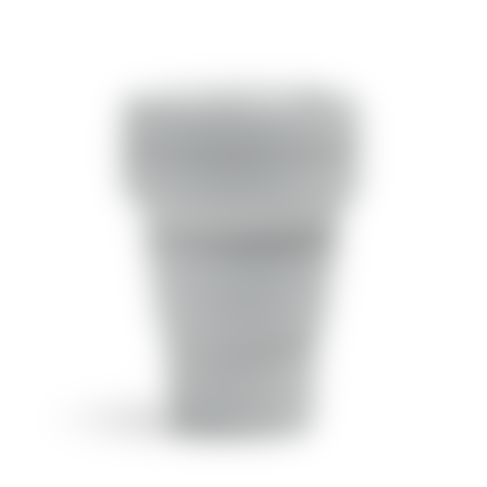 Stojo 12 oz Cashmere Grey Collapsible Coffee Cup