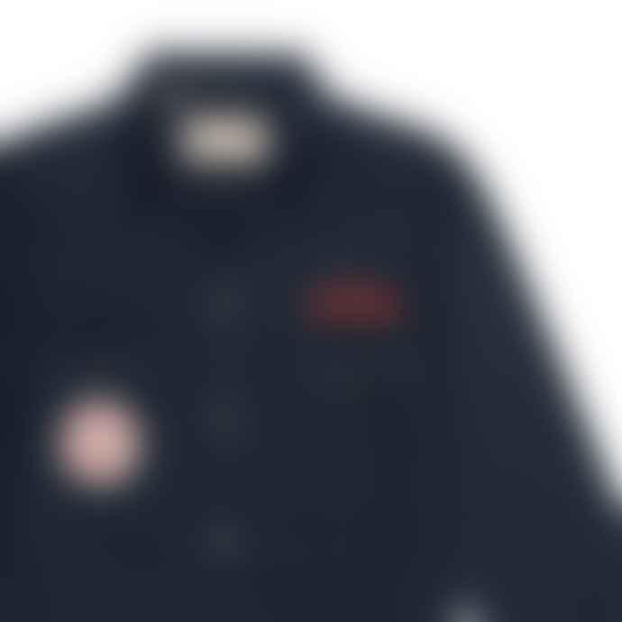Deus Ex Machina Sea Squalor Shirt Navy