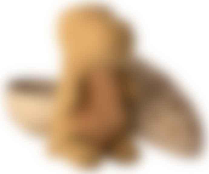 Maileg Gantosaurus in Egg Medium - Dark Ocher
