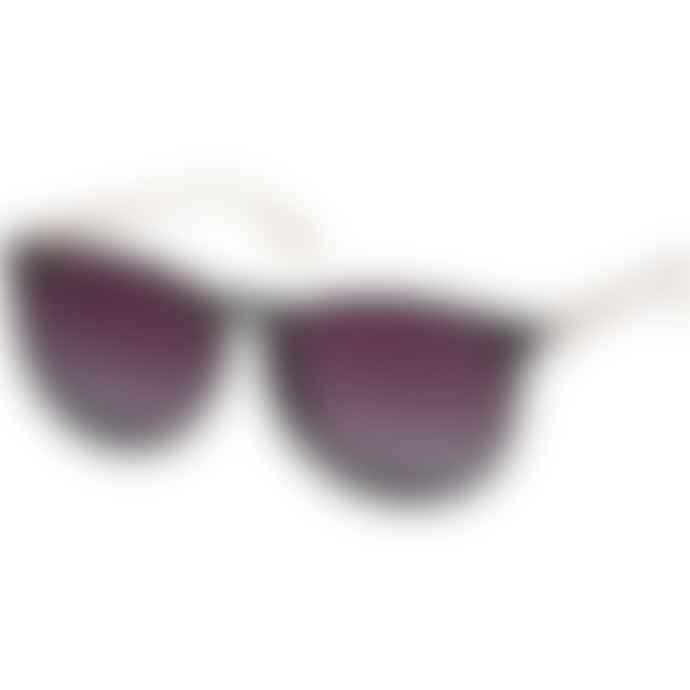 Pilgrim Sunglasses Vanille In Black