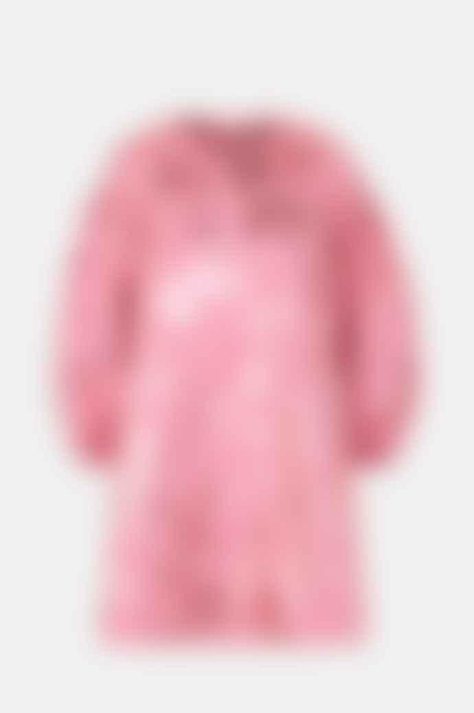 Stine Goya Francis Dress In Rose Lurex