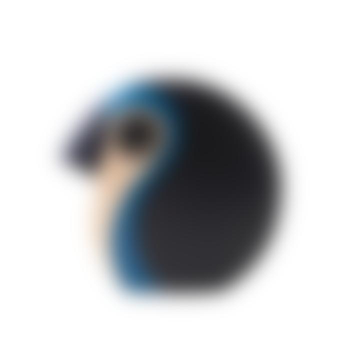 Architectmade Medium Blue Discus - Wooden Bird