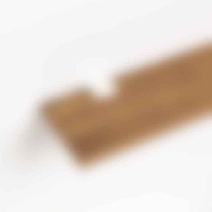 Tiptoe Old Oakwood Shelf 90x20cm