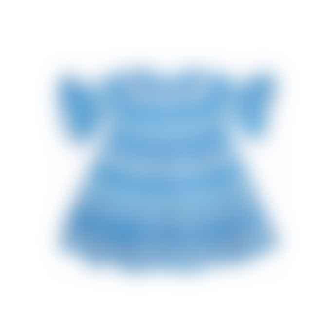 Pearl & Caviar Kids Zakar Dress Turquoise