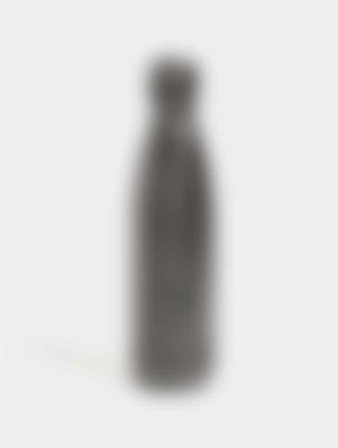Chilly's Black Glitter Bottle 500ml
