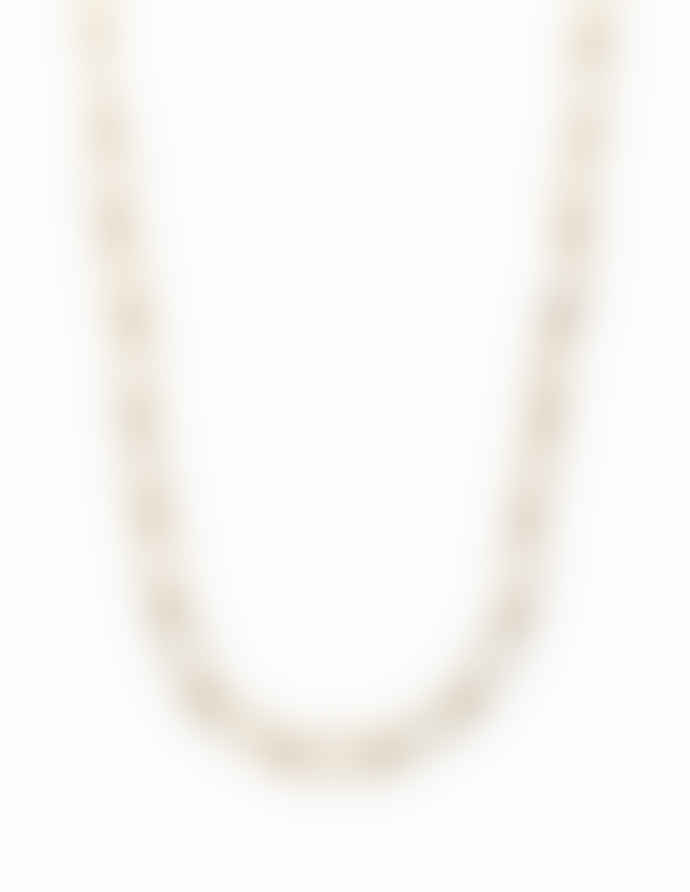 Nordic Muse Waterproof 18k Gold Chain Link Choker