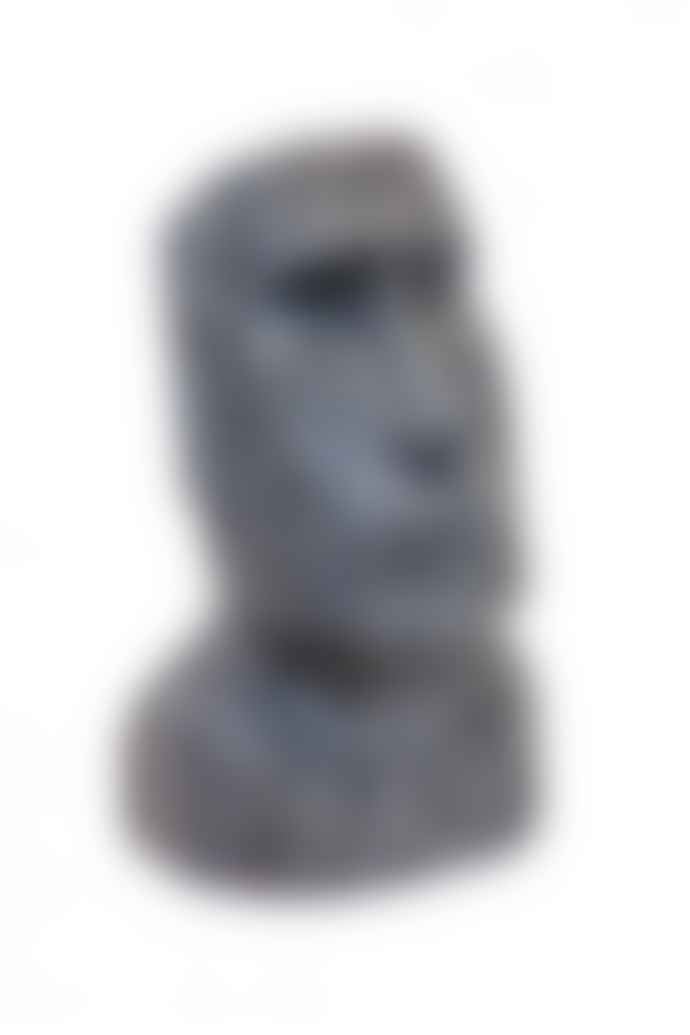 The Sue Parkinson Home Collection Large Stone Effect Easter Island Head Ornament