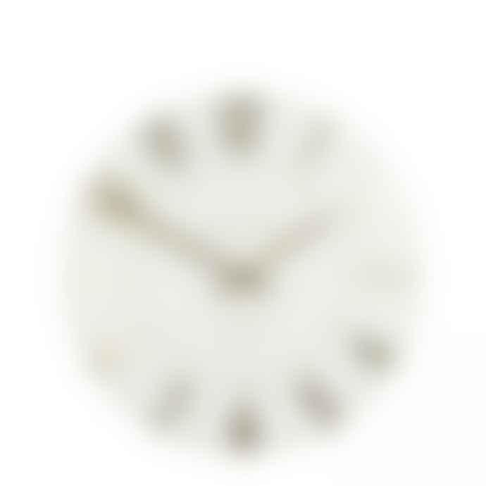 Thomas Kent Mulberry Ivory Champagne Wall Clock