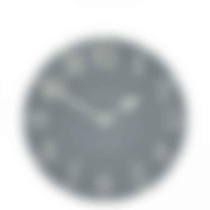 Thomas Kent 12 Inch Arabic Flax Blue Wall Clock