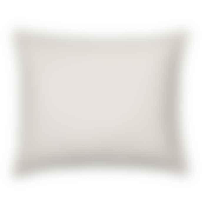 Olsson & Jensen Light Beige Linen Cushion Cover With Frayed Edges 50 Cm X 60 Cm