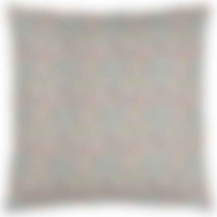 Ib Laursen Pink Green Blue Ditsy Floral Cushion Cover 60 X 60 Cm