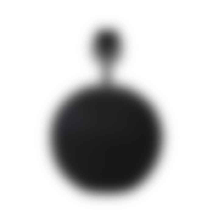 Light & Living Caia Ceramics Matt Black Lamp Base O 20 X 28.5 Cm
