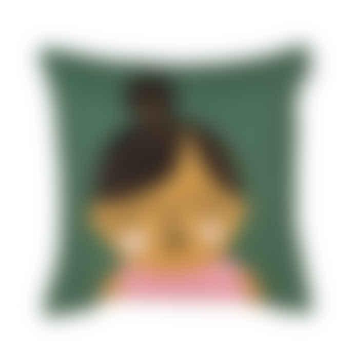 Spira of Sweden Face Cushion Esmeralda
