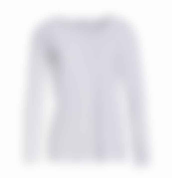 Transit J 191 Long Sleeved T Shirt White