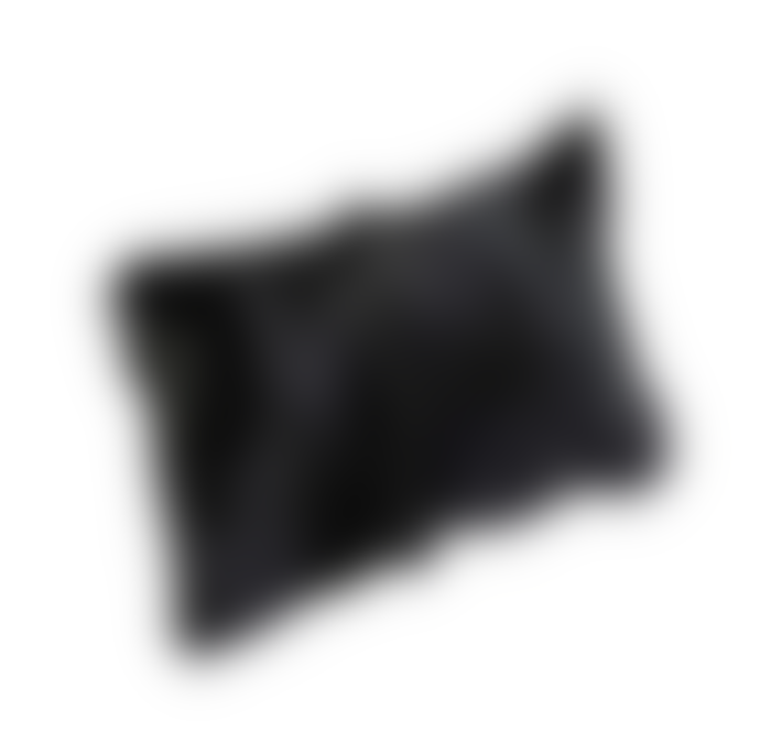 Broste Copenhagen Cushion Goatskin Black
