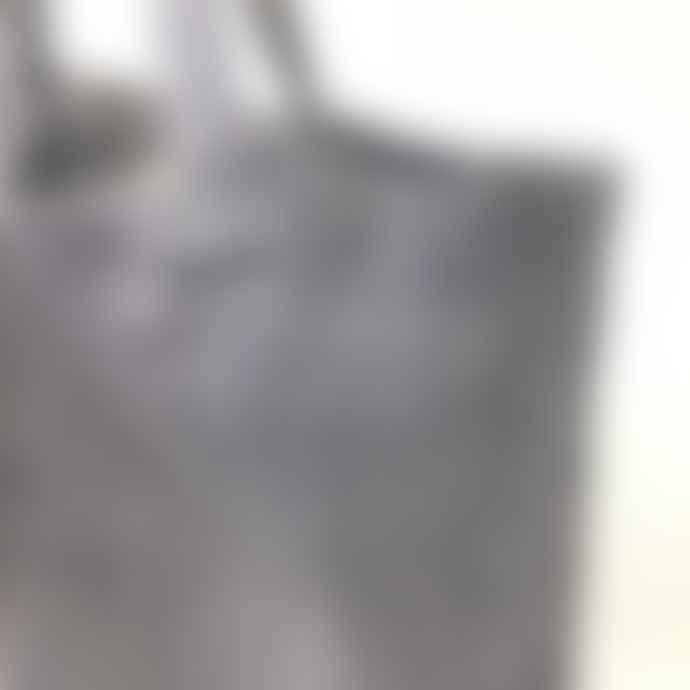 Barnbury Home Navy Linen Shopper Bag
