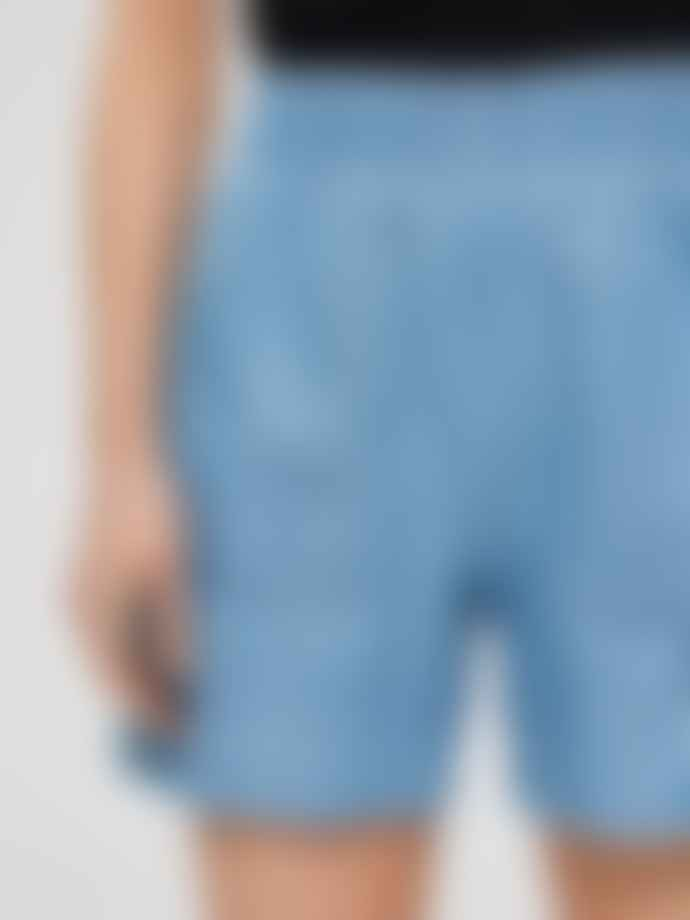 Selected Femme Novo Light Denim Shorts