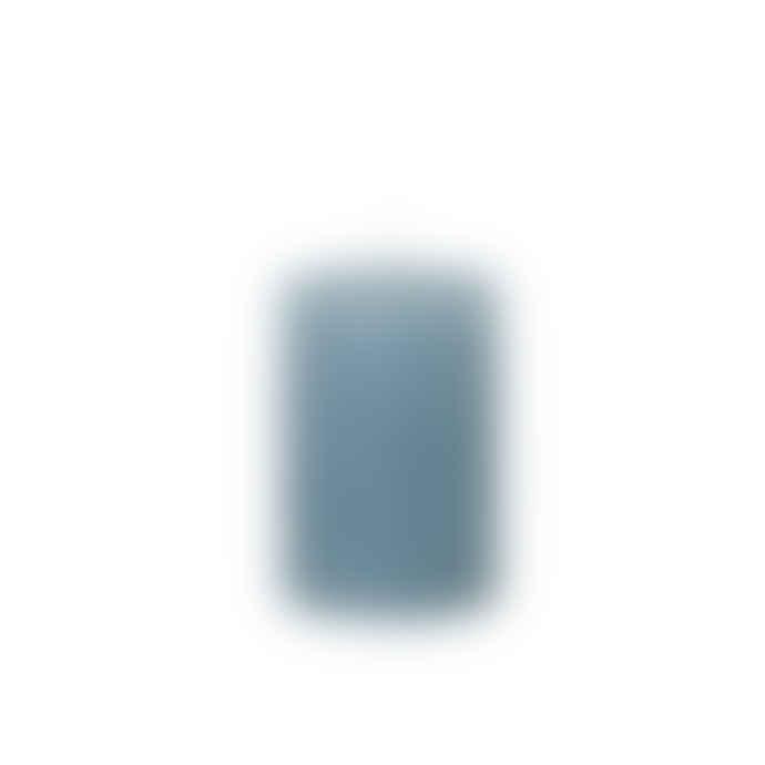 Cozy Living Rustic Blue Pillar Candle 7x10cm