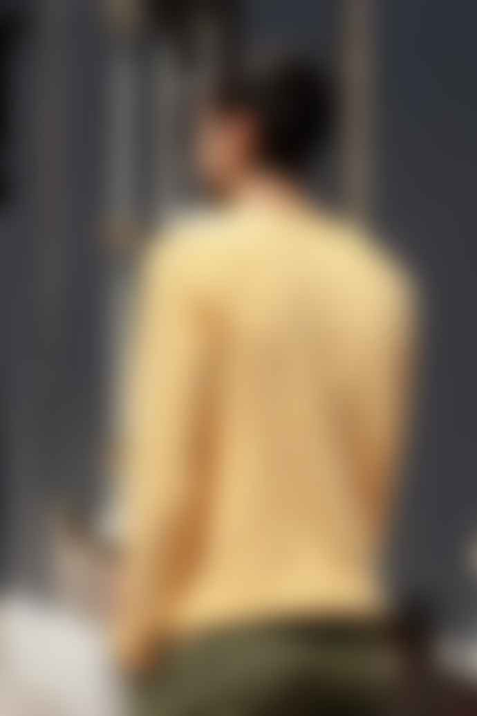RVLT Mens 6005 Light Yellow Sweater