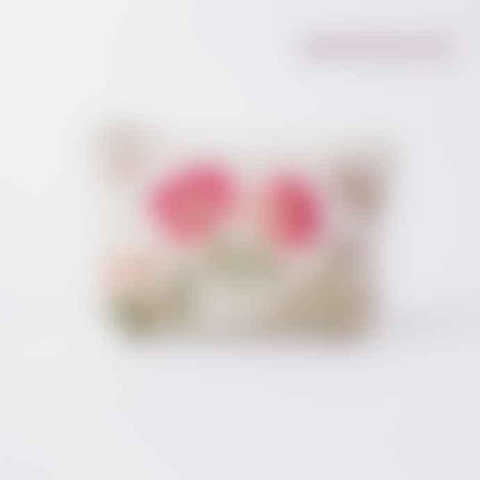 Elizabeth Scarlett Natural British Blooms Make Up Bag