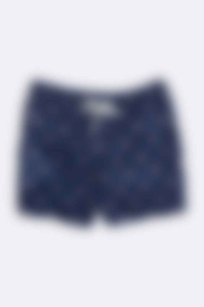 Far Afield Acid Smile Print Swim Shorts
