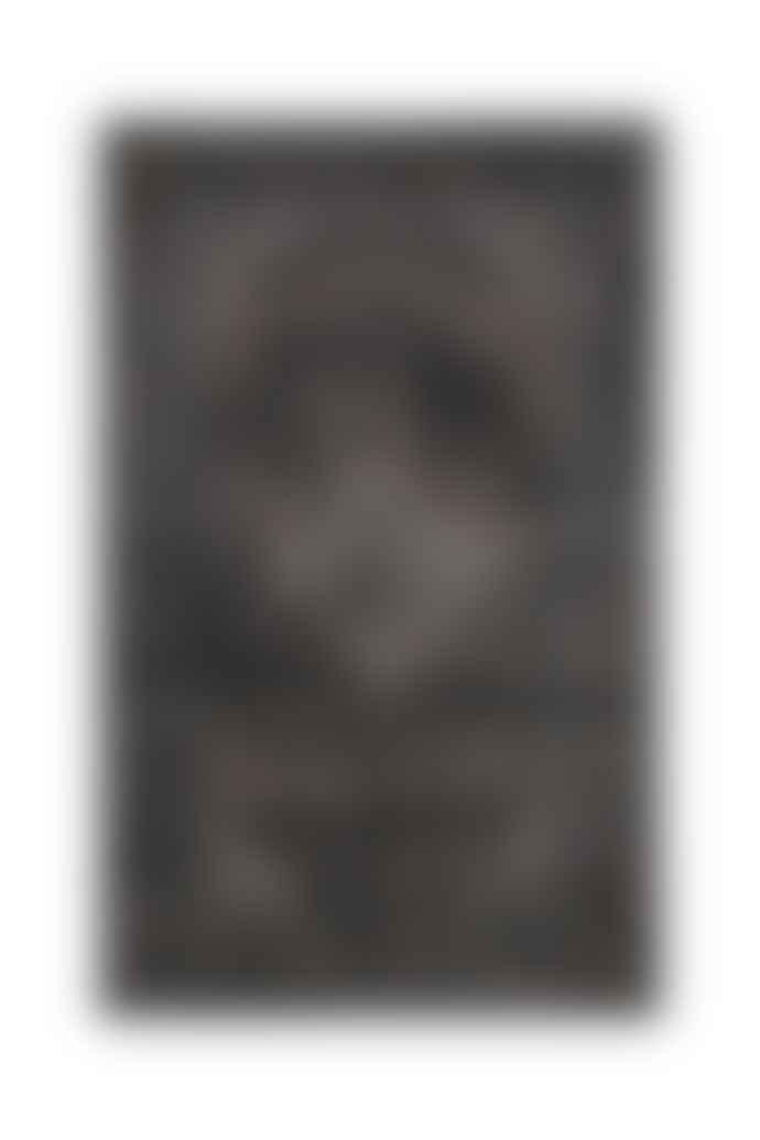 Navkar Sarouk Patterned Charcoal Rug
