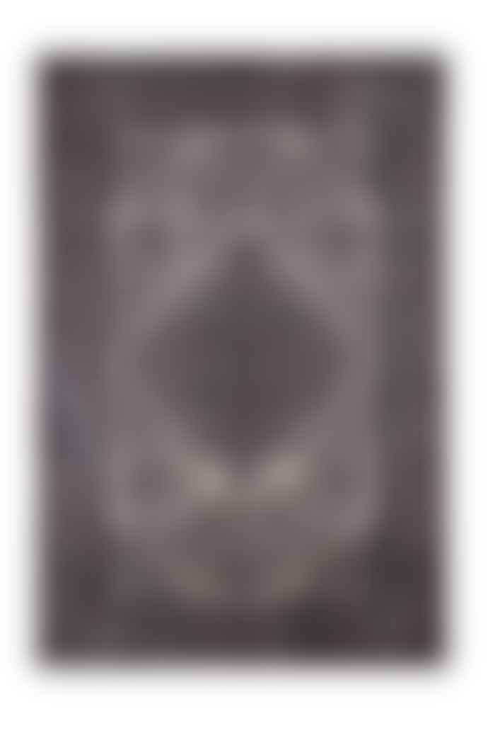 Navkar Emperor Anthracite Black Rug