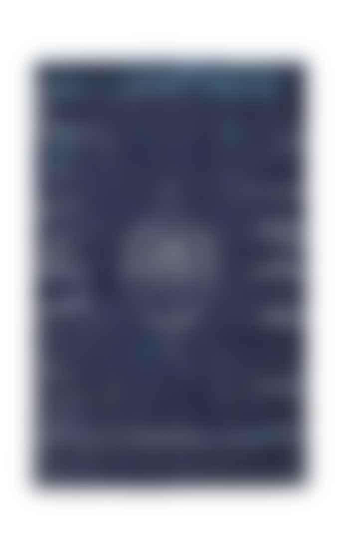 Navkar Divine Deep Blue Rug