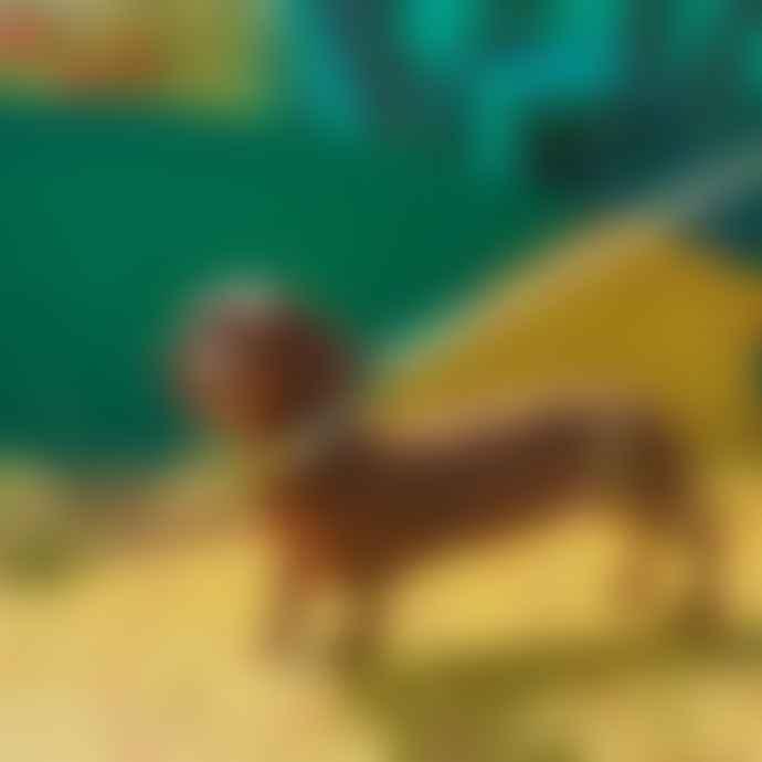 Hiro + Wolf Emerald City Classic Dog Lead