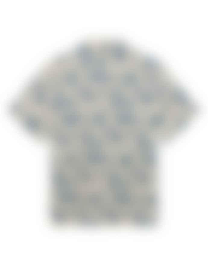 WolfWare Nicolas Shirt Blue Floral