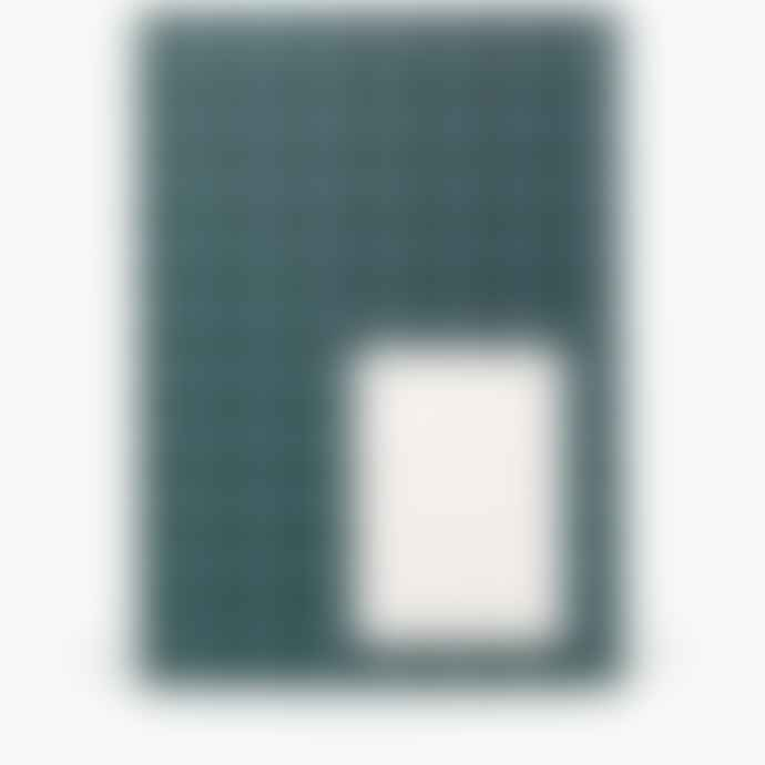 NOTEM Flatlay Notebook In Dark Green