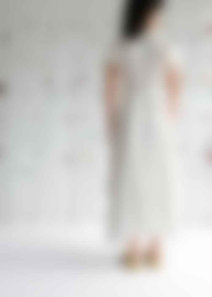 OhSevenDays Allie Dress Wheat