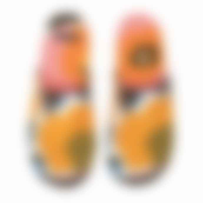 Marimekko Women's Rosarium Pattern Slippers