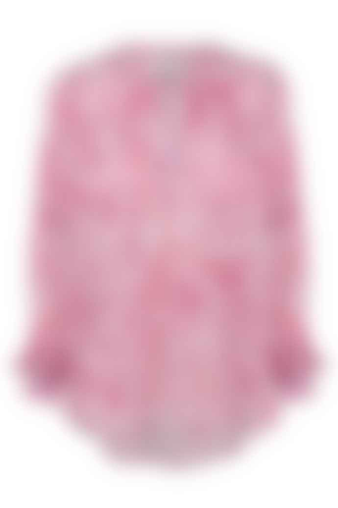 Primrose Park Leo Blue/ Pink Sandy Shirt