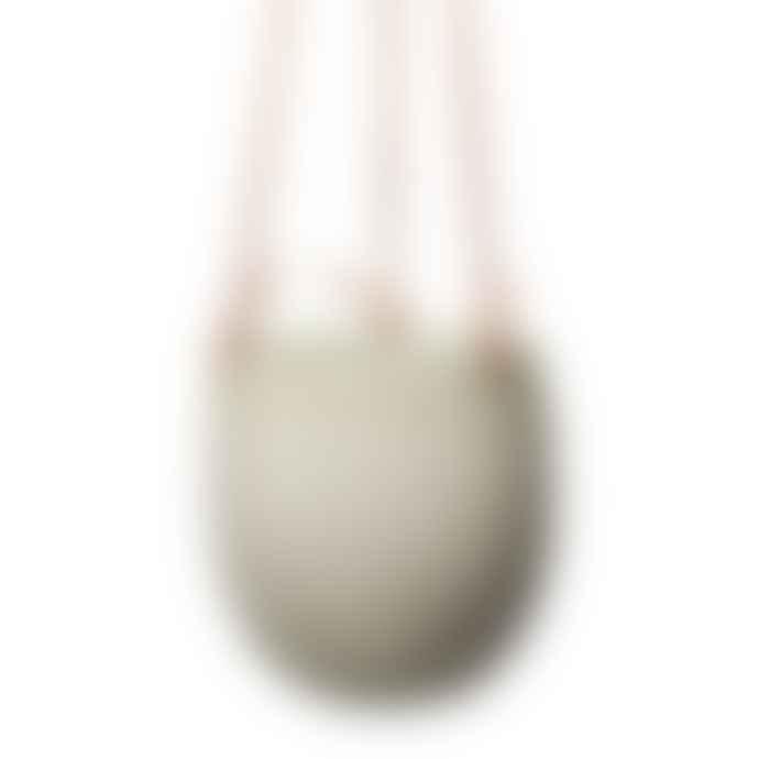 Wikholm Form White Hanging Pot