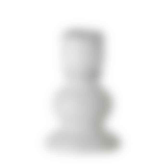 Bloomingville Ceramic Stoneware Cream Candle Holder