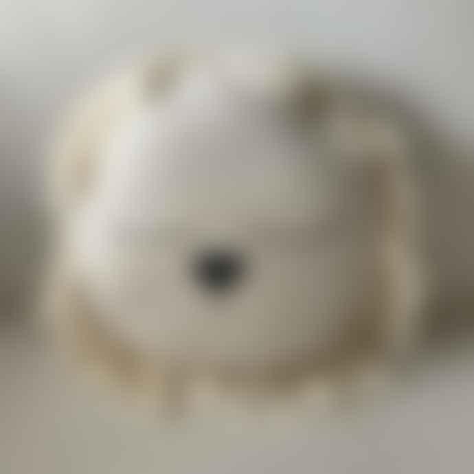 ILA Y ELA Crochet Lion Cushion