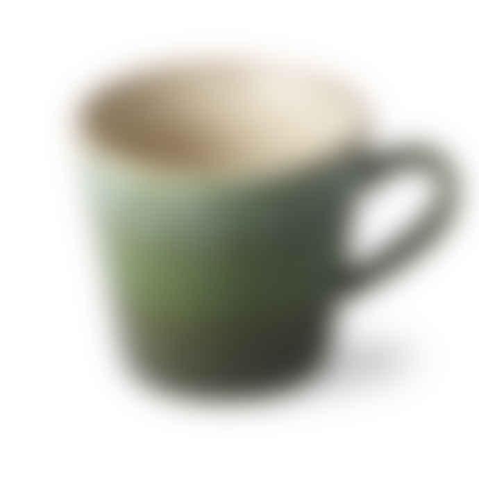HKliving Grass Ceramic 70s Cappuccino Mug