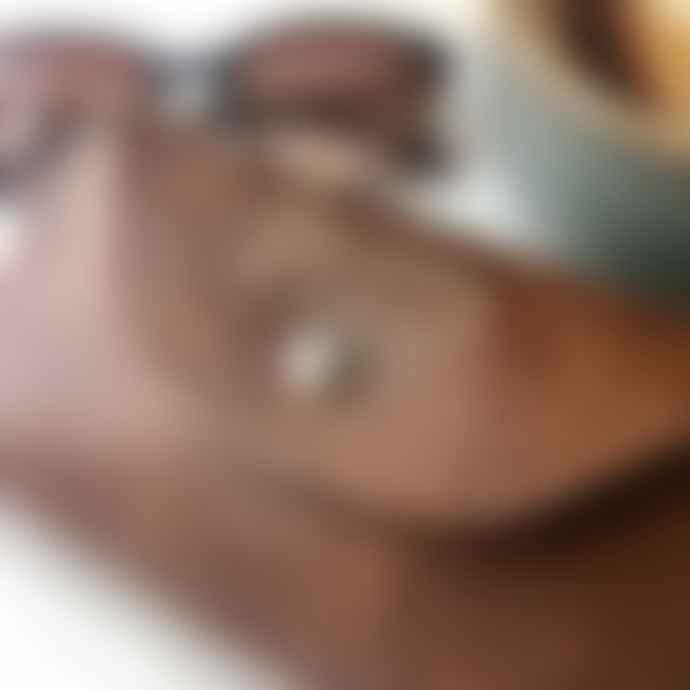 Gisela Graham Leather Effect Glasses Case
