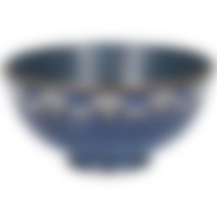 Mikasa Satori 11.5cm Seigaiha Border Miso Bowls Pack of 6