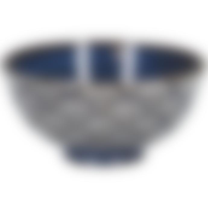 Mikasa Satori 11.5cm Seigaiha Wave Miso Bowls Pack of 6