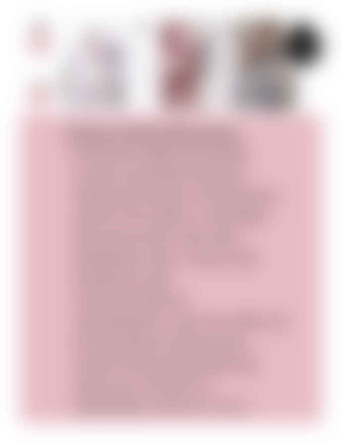 Equa Tough Glass Water Bottle 750ml with Grey Felt Cover and Pink Leather Handle