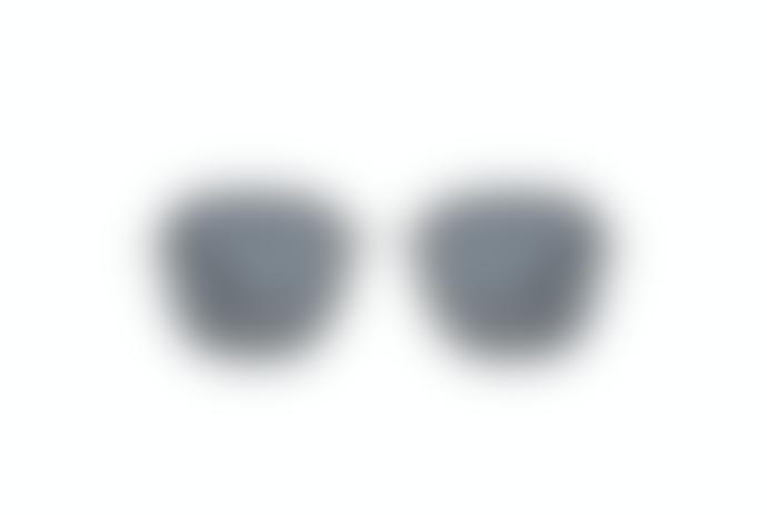 Komono Silas Silver Smoke Sunglasses