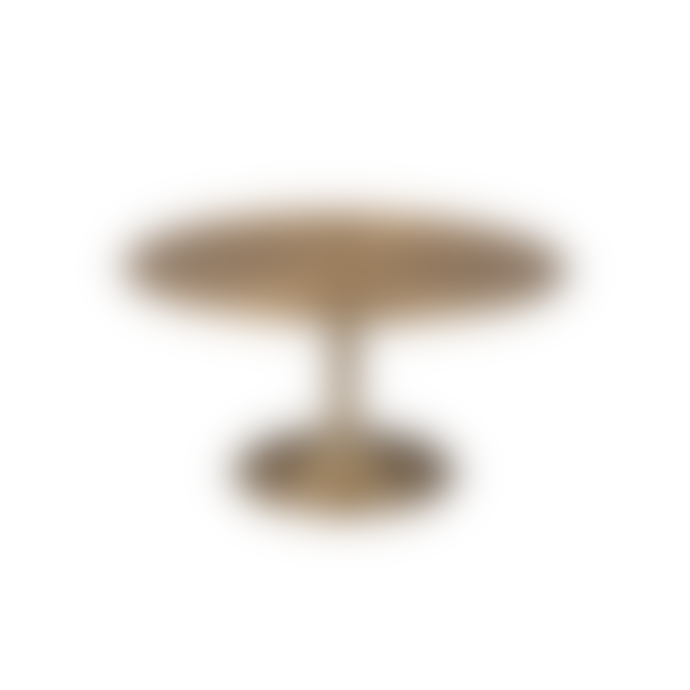 Bold Monkey Hypnotising Round Coffee Table Gold
