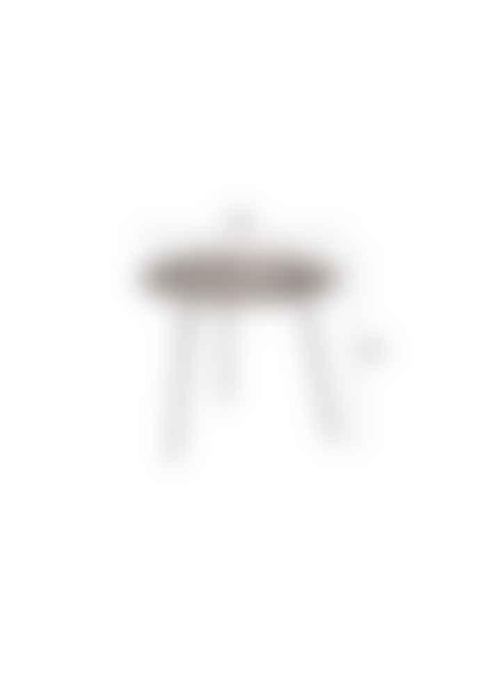 Lillian Daph Pepper Brown Side Table