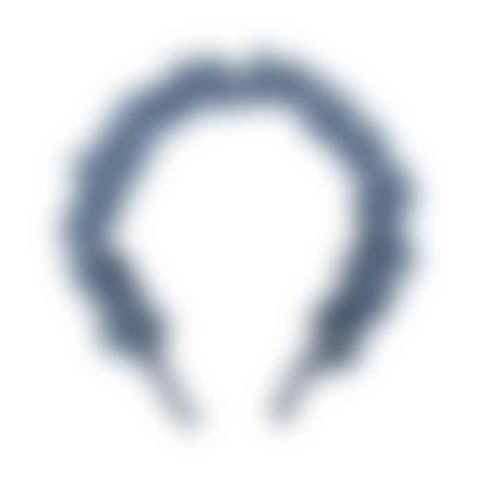 Big Metal Nicole Satin Plaited Headband