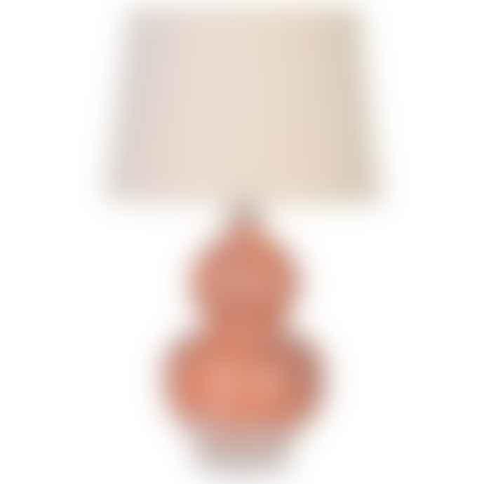 HAYGEN Bulbous Patterned Lamp