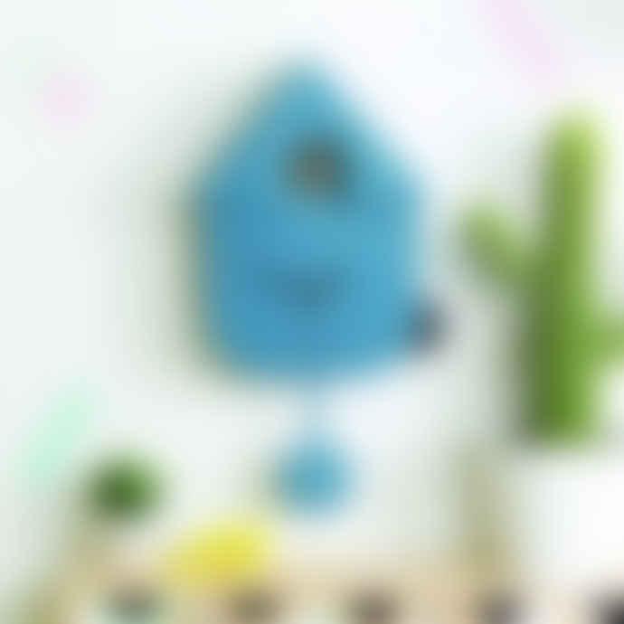 Fisura 'Blue' Cuckoo Clock