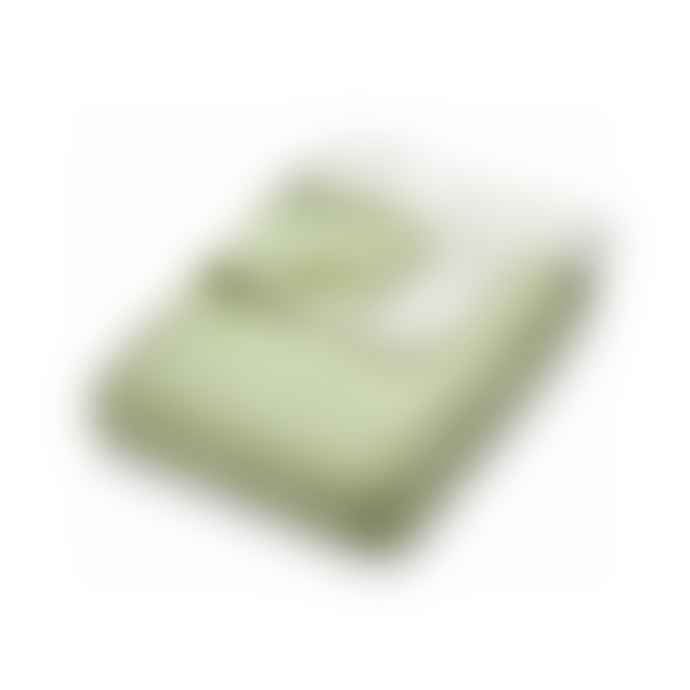 Phoenox Textiles Hug Rug Woven Diamond Throw - Green